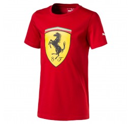 Camiseta Puma Scuderia Ferrari Big Shield Tee